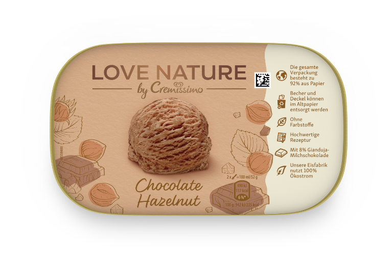 [Cremissimo Chocolate Hazelnut]
